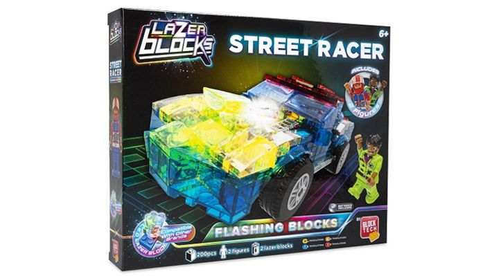 Block Tech Light up Racing Car