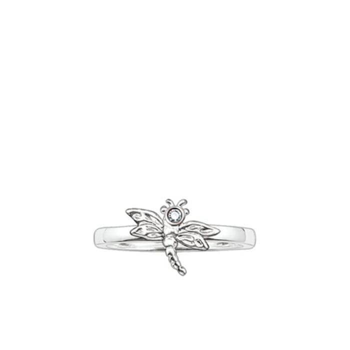THOMAS SABO Ring, Sterling Silver,