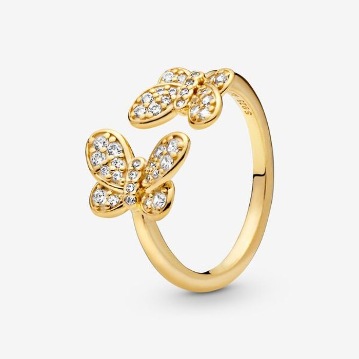 Cheap Pandora Butterfly Open Ring on Sale From £100 to £49
