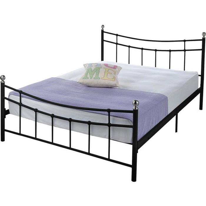 Black Bed Frame - Double Size