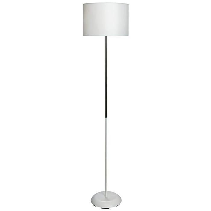 Best Price! White and Chrome Floor Lamp - HALF PRICE!!