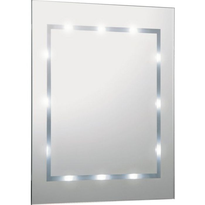 Ultra Modern Illuminated Bathroom Mirror with £10 Saving