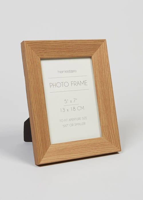 Wood Effect Photo Frame