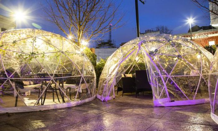 62% Discount! Bottomless Food in an Outdoor Pop-up Dining Pod at Inamo