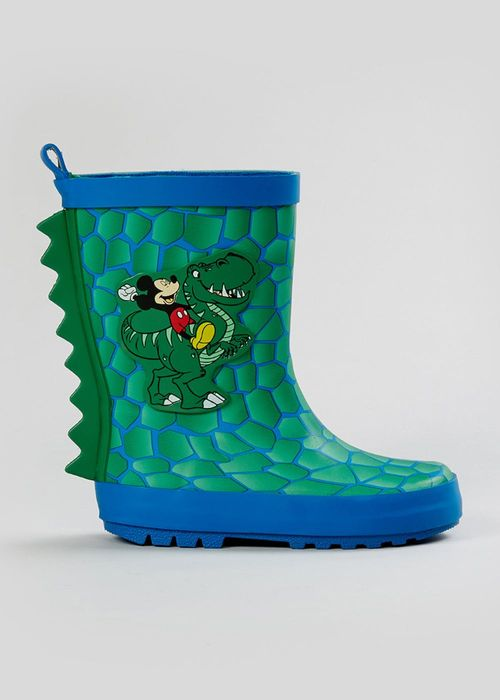 Best Price! Kids Green Disney Mickey Mouse Wellies At
