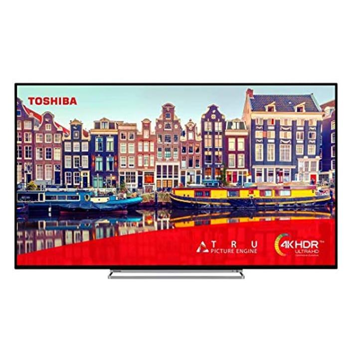 Toshiba 50VL5A63DB 50 Inch Smart 4K Ultra HD HDR LED TV Freeview HD (Renewed)