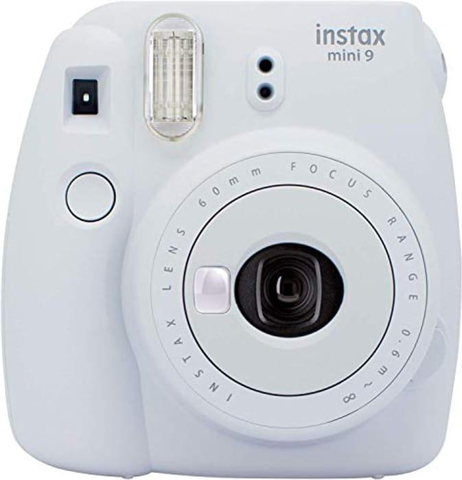 SAVE £15.99 - Instax Mini 9 Camera - Smoky White