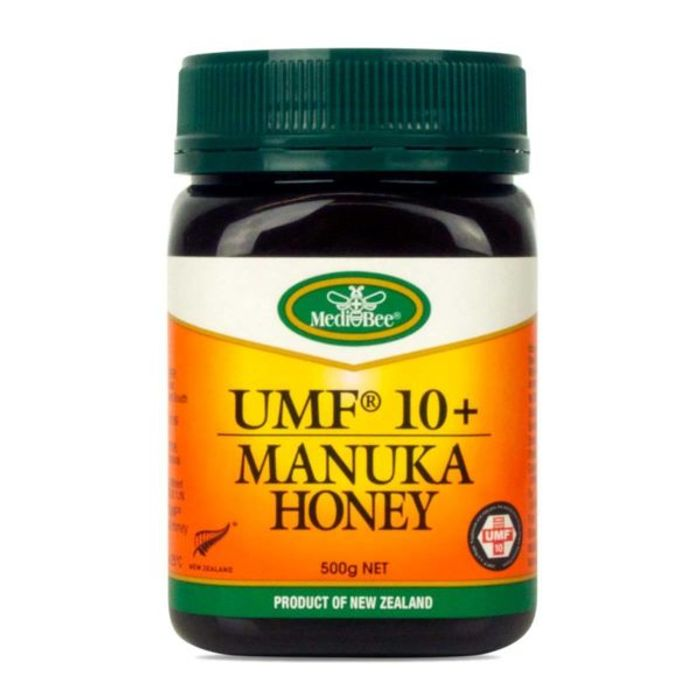 Pack of 3 Medi-Bee Active UMF10+ Manuka Honey 3x500g BBE 1/3/2020