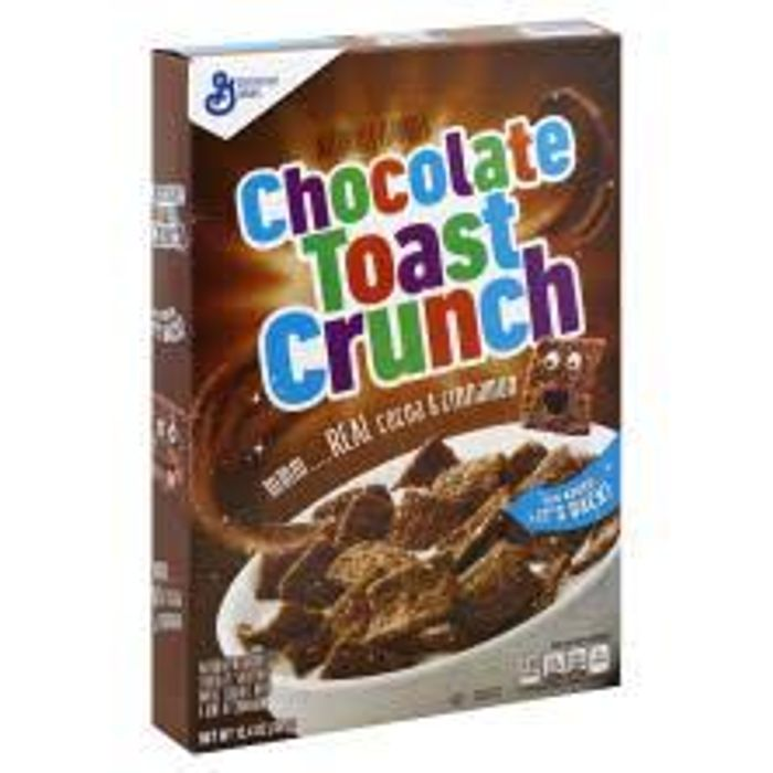 General Mills Chocolate Toast Crunch *Cocoa & Cinnamon* 351g BBE 25/12/19