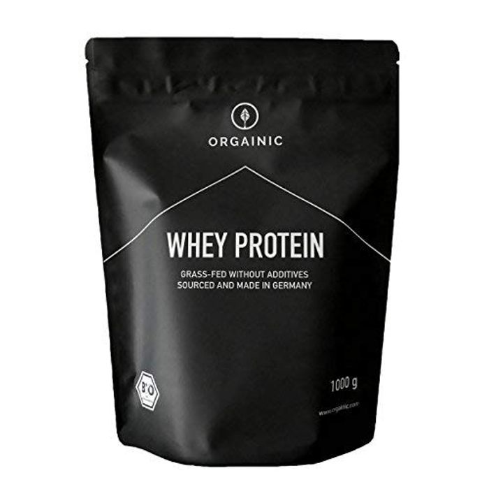 ORGAINIC Bio Natural Whey Protein - Organic Certified - Grass-Fed - 1000 G