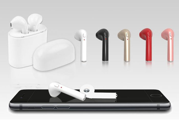 *SAVE £50* Apple-Compatible Wireless Bluetooth Earbuds with Charge Case