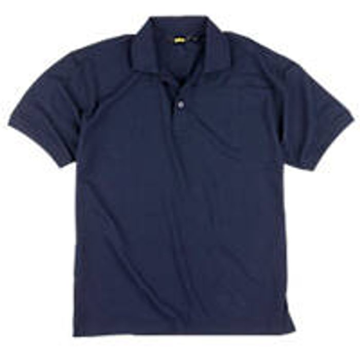 "Site Pepper Polo Shirt Navy Medium 40-41"" Chest"