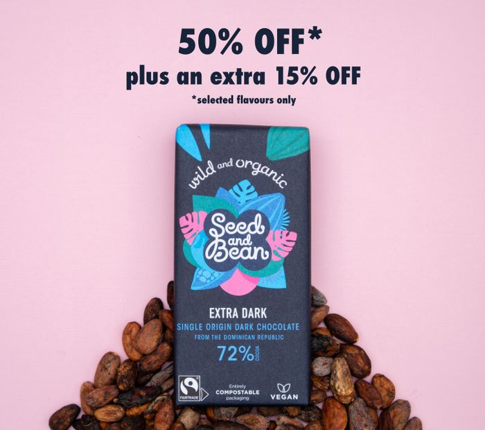 Seed and Bean - GET an EXTRA 15% off OUR SALE