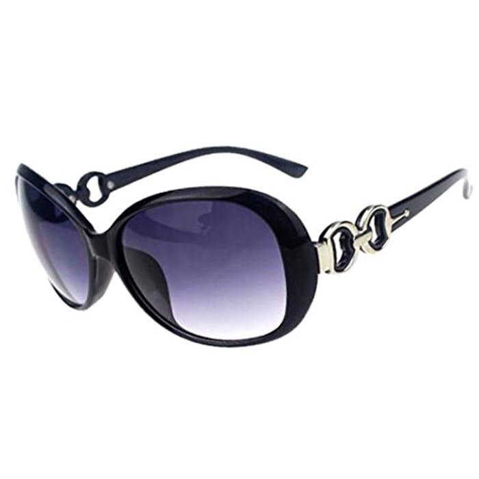 Oversized Eyewear, Shining Black&Grey with FREE Delivery