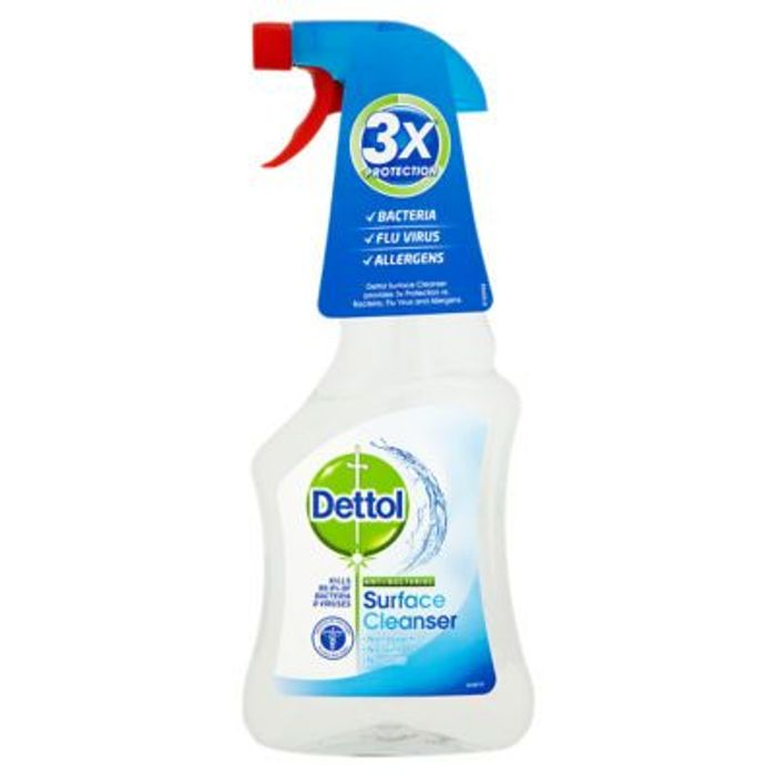Best Price! Dettol Cleaning Spray Antibacterial 500ml