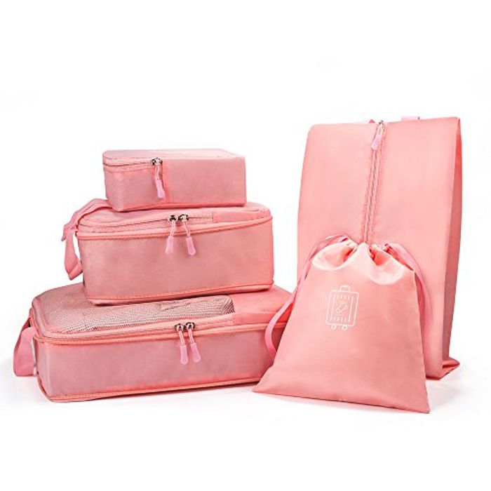 5 Set Travel Packing Cubes 50% Off