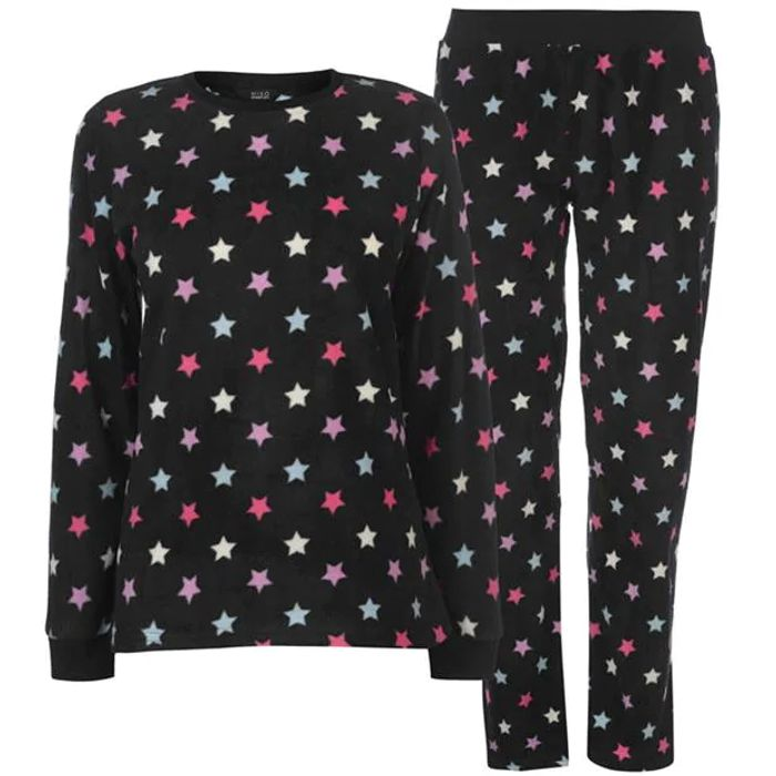 MISO Micro Fleece PJ Set Ladies save £3.99