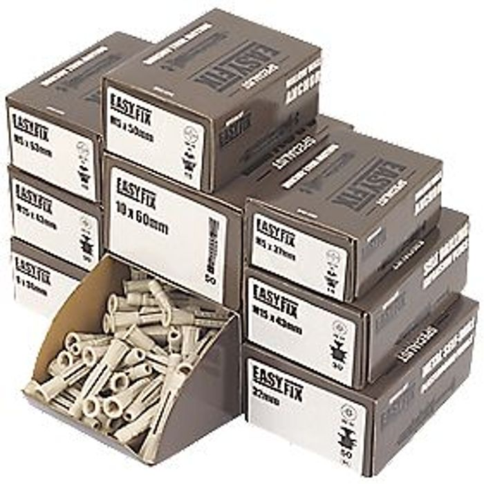 Easyfix Fixings Trade Pack 405 Piece Set (6723X)