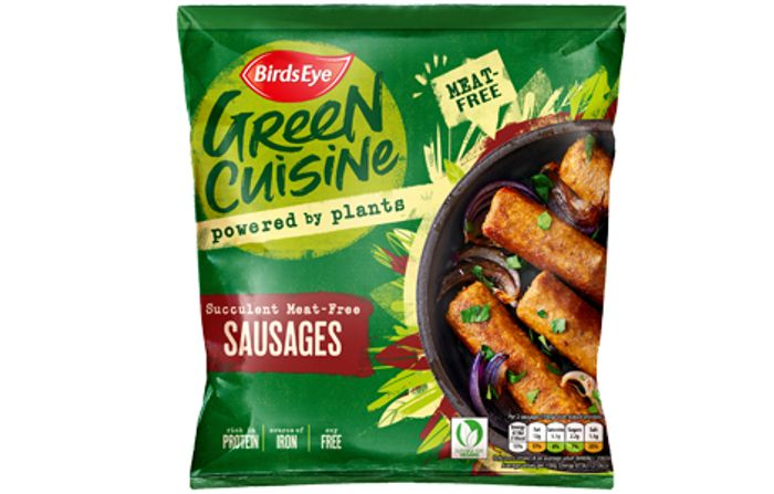 Birds Eye Green Cuisine Meat Free Sausages 6 pack