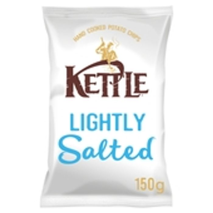 Kettle Chips Lightly Salted Crisps 150g
