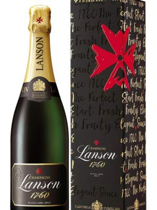 Best Price! Lanson Champagne In Giftbox For Last Minute Larry's