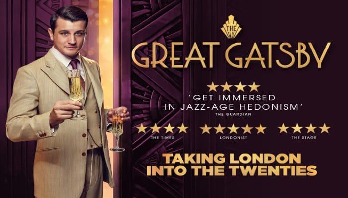 Best Price! 3* or 4* London Break, Breakfast & the Great Gatsby-Immersive London