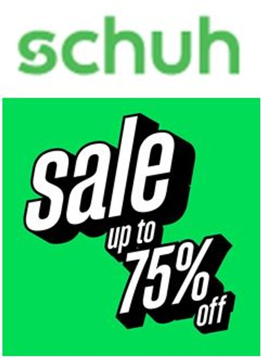 Schuh SALE - up to 75% off Womens, Mens