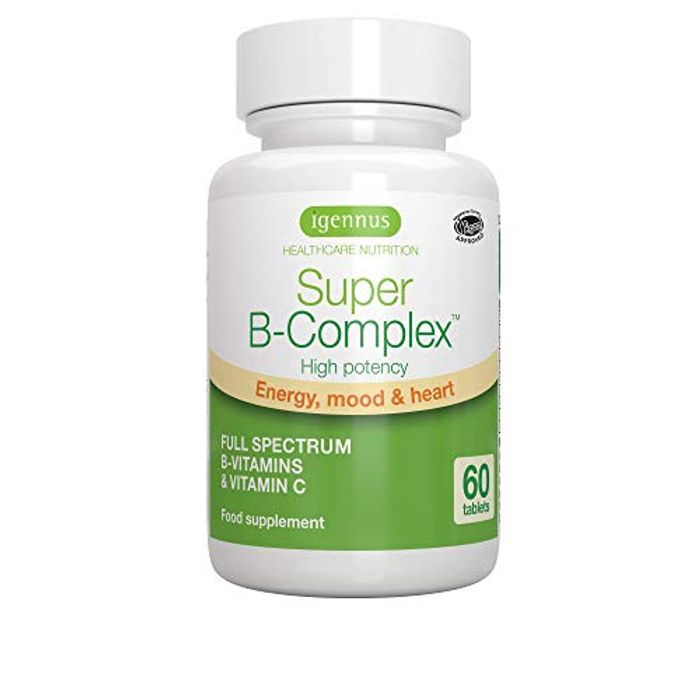 Super B-Complex - High Strength B Vitamins with Folate