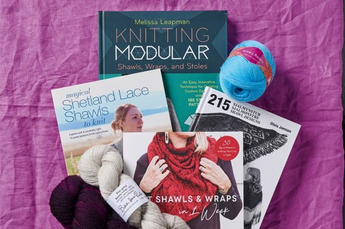 Win Shawl Knitting Books and Lace Yarns! from the Knitter Magazine