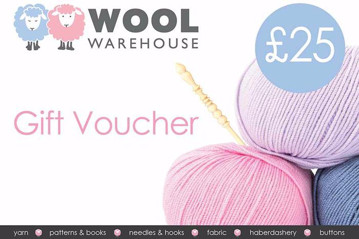 Win a £25 Wool Warehouse Voucher from Simply Knitting Magazine