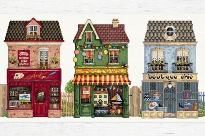 Win a Maria Diaz Cross Stitch Chart Bundle!