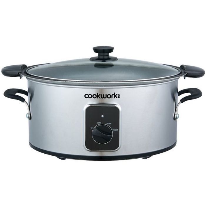 Cheap 4.5L Slow Cooker at Argos Only £19.99!