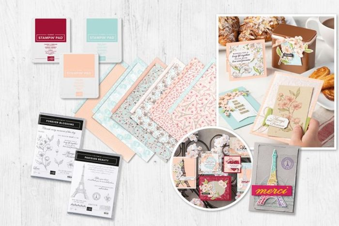 Win the Parisian Blooms Cardmaking Collection from Stampin Up!
