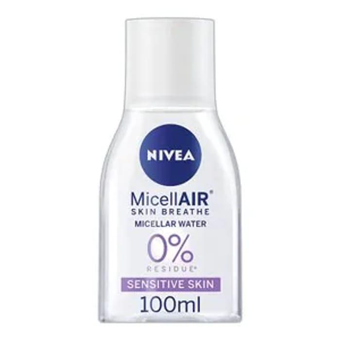 NIVEA MicellAIR Micellar Water for Sensitive Skin, 100ml