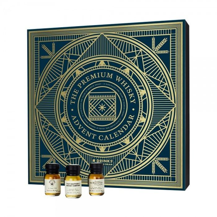 Drinks by the Dram Premium Whisky Advent Calendar 24X3Cl