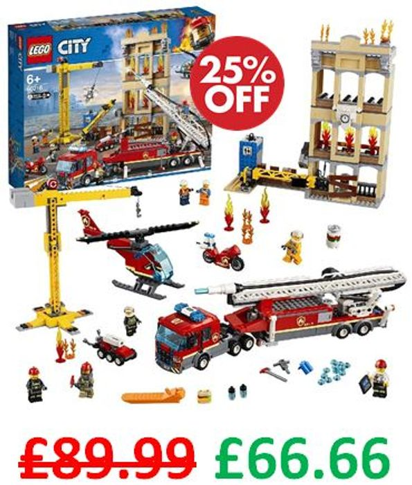 LEGO CITY Fire Downtown Fire Brigade (60216)