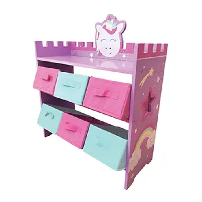 Magical Unicorn Wooden Storage Unit - HALF PRICE!