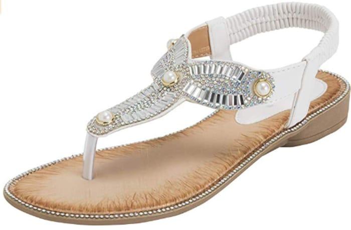 Best Price! Women's Strappy Diamante Sandals £3.99 (Prime)