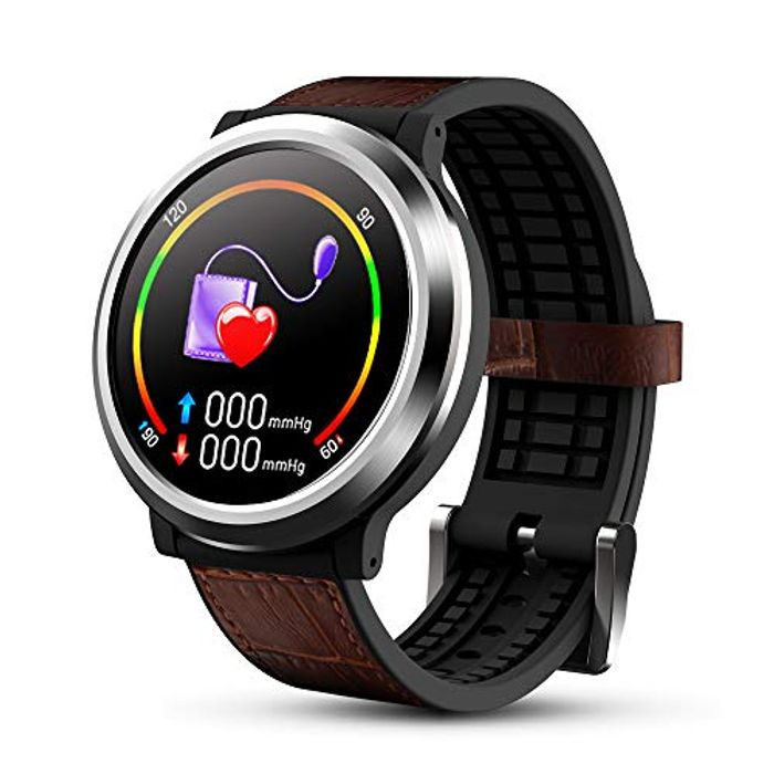 OKNAE Smartwatch with Heart Rate Sleep Sports