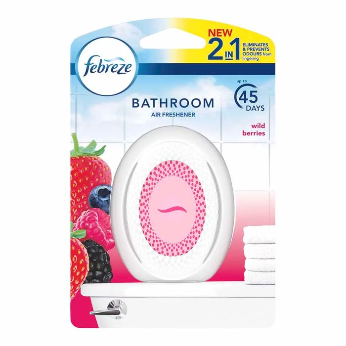 Febreze Bathroom Air Freshener Berry 7.2g - HALF PRICE!