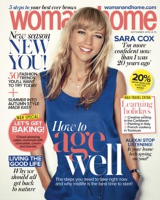 Free Copy of Woman & Home Magazine.