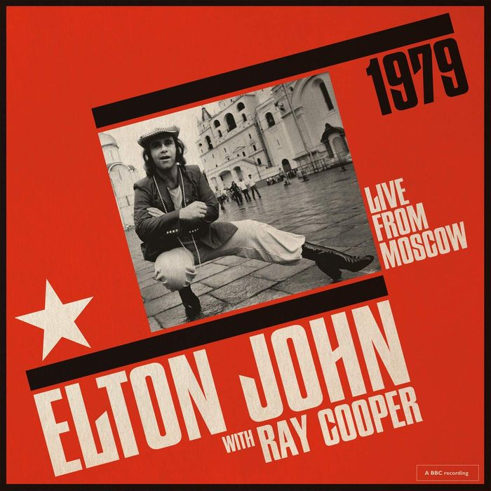 Win Elton John with Ray Cooper Live from Moscow Album!