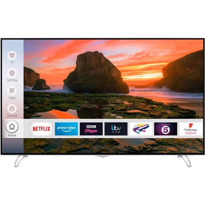 "*SAVE £100* Techwood 65"" Smart 4K Ultra HD TV"
