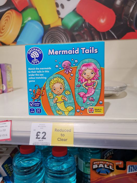 Orchard Toys Games Reduced to £2 at Tesco
