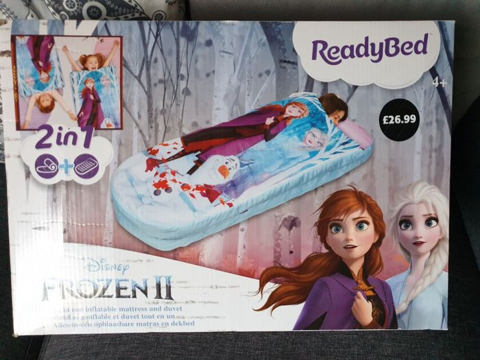 Readybed 2in1 Inflatable Mattress and Duver