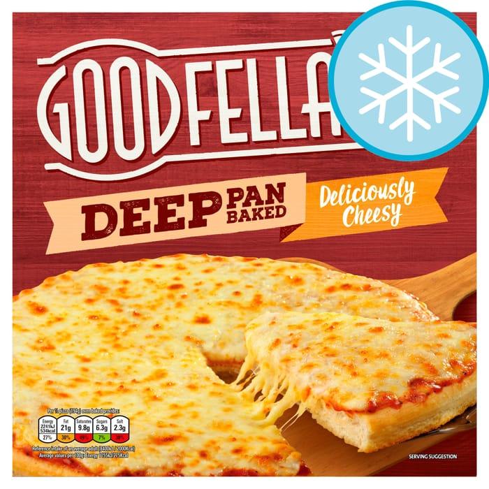 Goodfella's Deep Cheesy/Pepperoni Pizza 421G