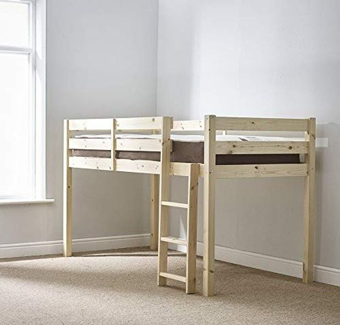 Strictly Beds and Bunks Limited 3ft Midi Sleeper Cabin Bed, Single