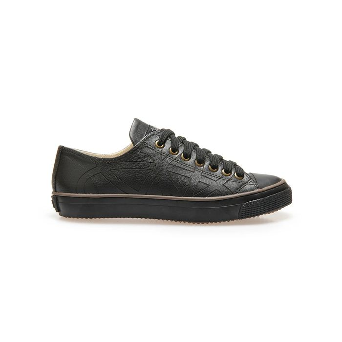 Cheap Men's BUTTERFLY Black Apple Skin Trainers - Only £25