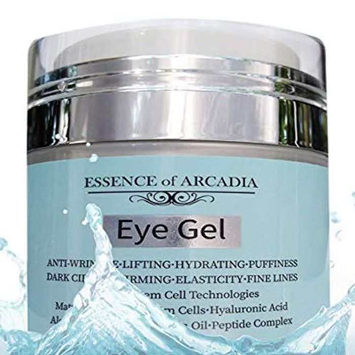 Eye Gel for Dark Circles, Puffiness, Wrinkles, Skin Firming and Bags