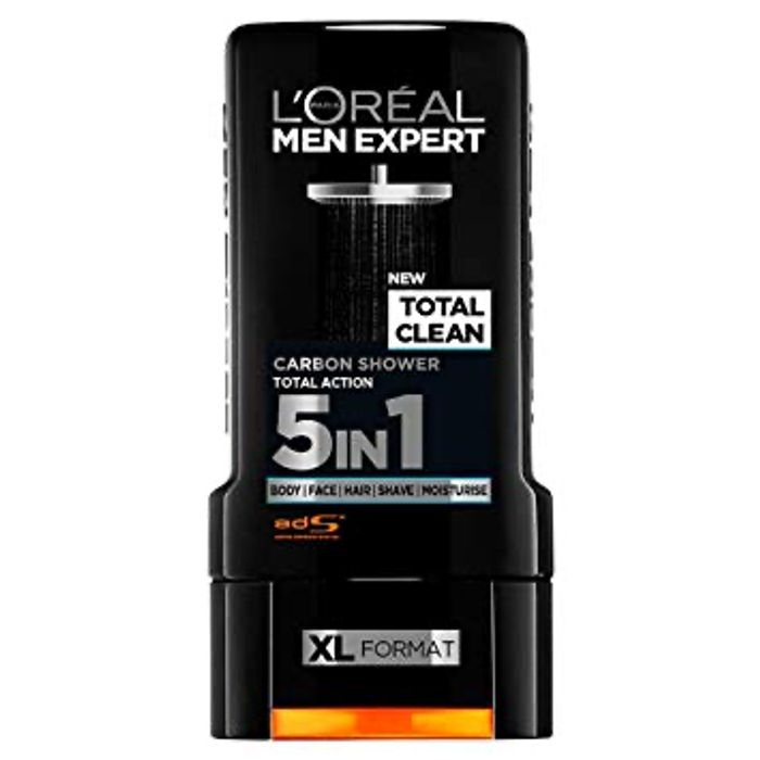 Best Price! LOreal Men Expert Total Clean Shower Gel 300ml at Boots
